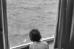 Sur le bateau-Grece 2003